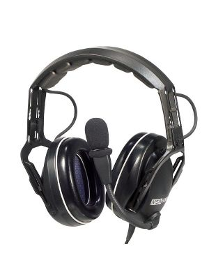 LOGIC - ICOM F14/24 Hvy Duty Hdst Over the Head Earcup PTT - 2 Pin 2 Screw