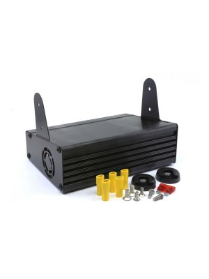 Tait TM8/9 Desktop Power Supply (9A) c/w Mounting Bracket (Backup DC Output to charge an Ext Bat)