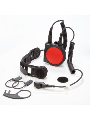 PD7/9 Bone Conduction Headset with large PTT