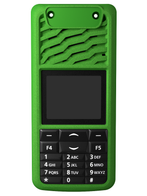 TP3000 16 Key Green Front Panel - Tait Fitted
