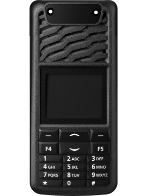 TP3000 16 Key Black Front Panel - Tait Fitted