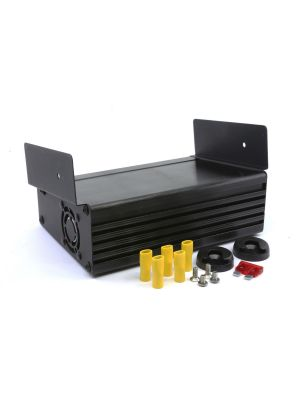 Hytera MD6 Desktop Power Supply (9A) c/w Mounting Bracket (Backup DC Output to charge an Ext Bat)