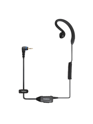 PD372 C-style Earpiece with Speaker & Mic