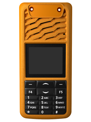 TP3000 16 Key Orange Front Panel - Tait Fitted