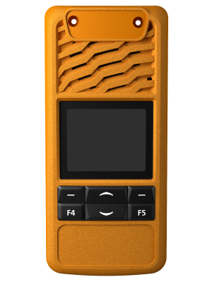 TP3000 4 Key Orange Front Panel - Tait Fitted