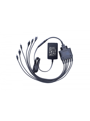PD372 Six-unit Switching Power adapter (micro USB port, 5V/6A)  (including AC power cord)