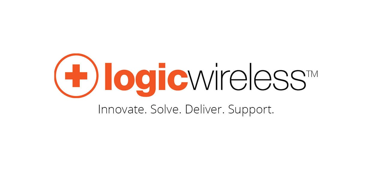 logic wireless logo banner with slogan